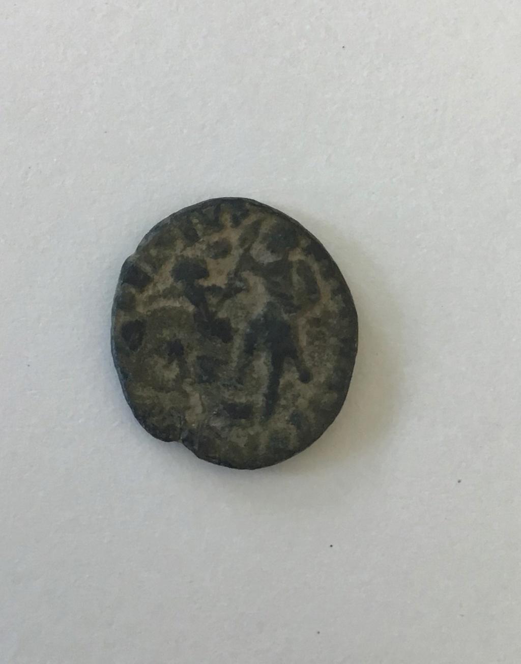 AE4 de Juliano II. FEL TEMP REPARATIO, Soldado alanceando a jinete caído. 610f8c10