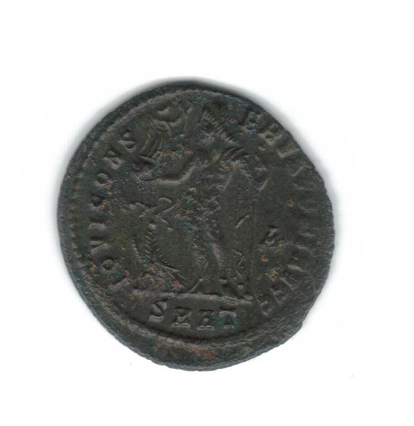 Nummus de Licinio I. IOVI CONS-ERVATORI AVGG. Júpiter estante  a izq.  Heraclea. 8009c_11