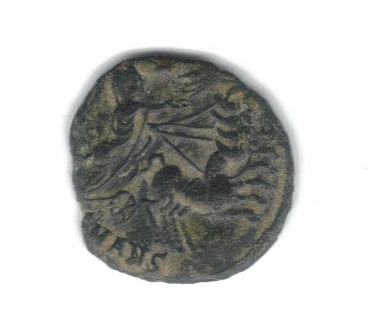 AE4 de consagración de Constantino I. Constantino dirigiendo cuádriga a dcha. Antioch. 8523hr10