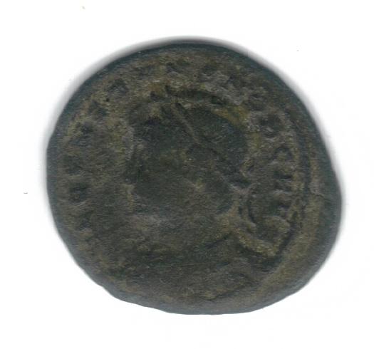 AE4 de Constante I. GLORIA EXERCITVS. Soldados entre 1 estandarte. Constantinopolis. Consta14