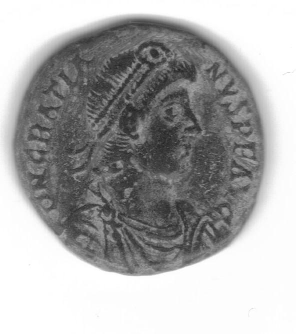AE2 o Maiorina de Graciano. REPARATIO REI PVB. Roma Gratia10