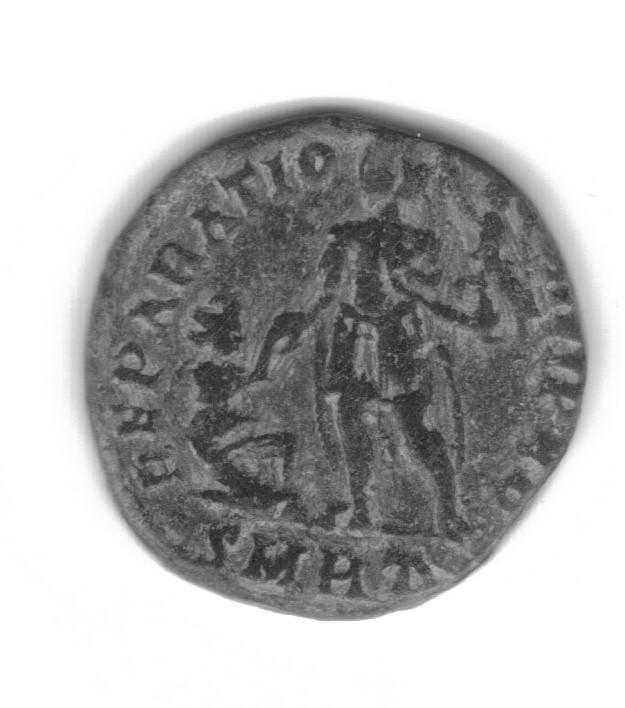 AE2 o Maiorina de Graciano. REPARATIO REI PVB. Roma Gratia11