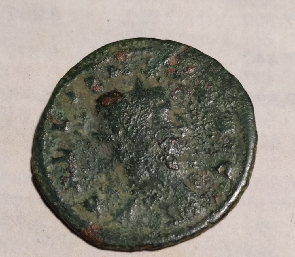 Antoniniano de Galieno. FORTVNA REDVX. Fortuna estante a izq. Roma. Img_2031