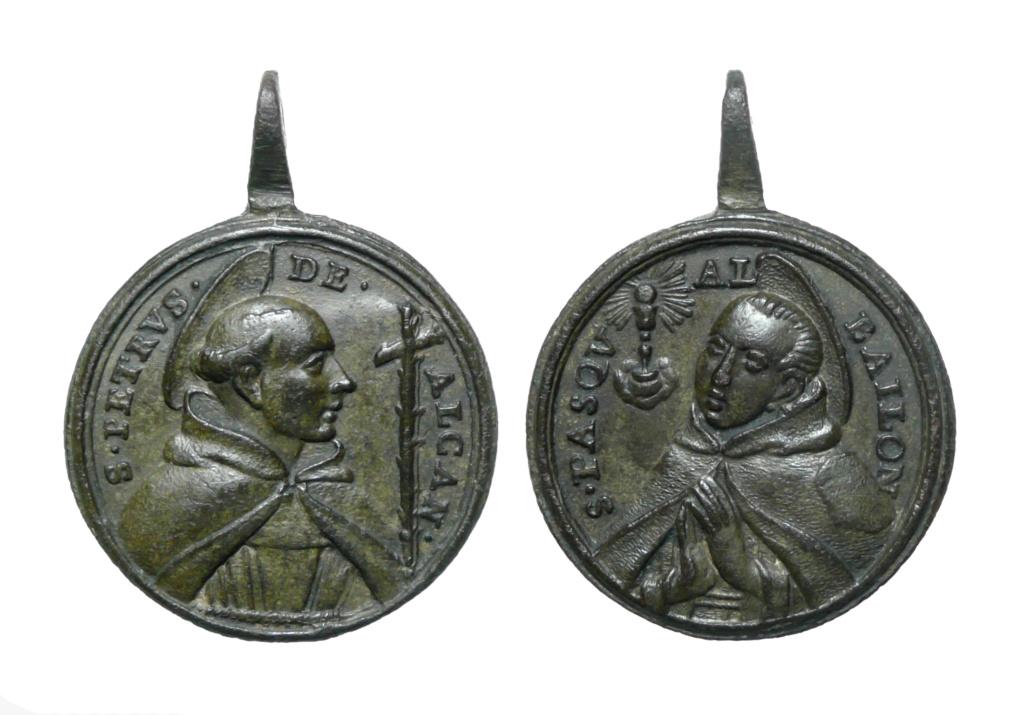 San Pedro de Alcántara / San Pascual Bailón (R.M SXVIII-C159) 1-110