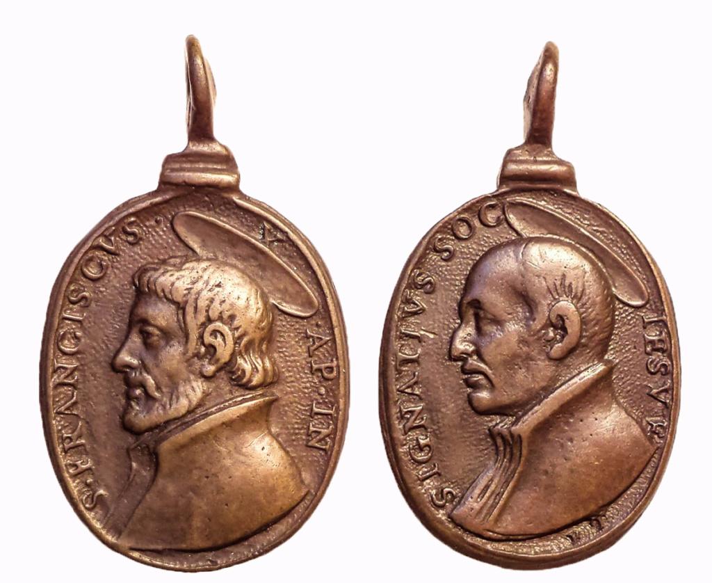 san Ignacio de Loyola/ san Francisco Javier, S. XVII ( G F.Travani) 111
