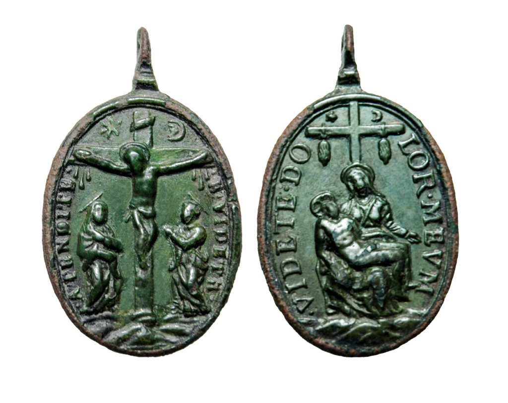 Crucifixión / Piedad  (R.M. SXVII-O491) 5-210