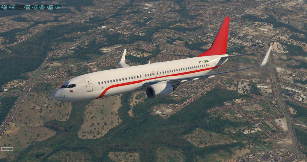 Primeiro voo e primeira pintura para o Zibo 737-800 B738_211