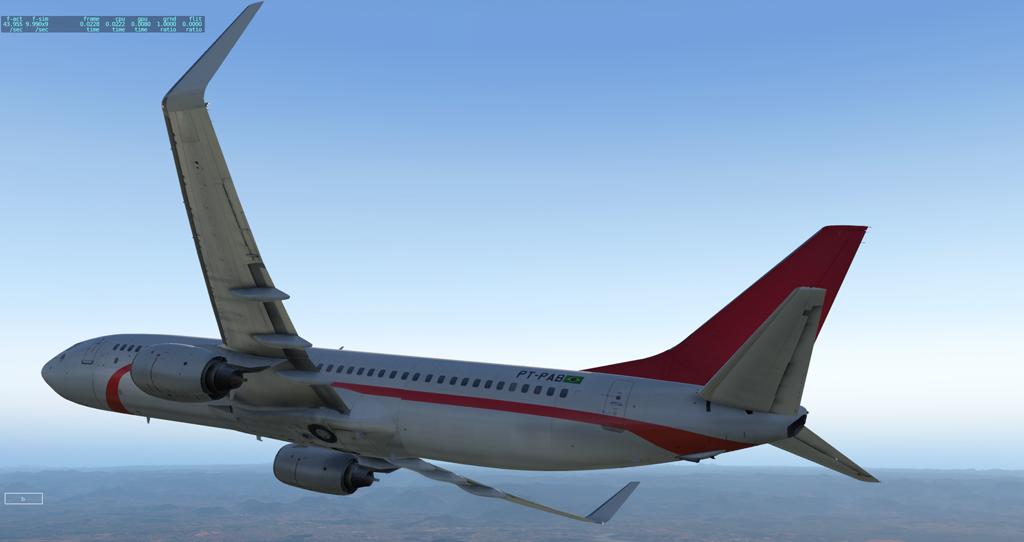 Primeiro voo e primeira pintura para o Zibo 737-800 B738_212