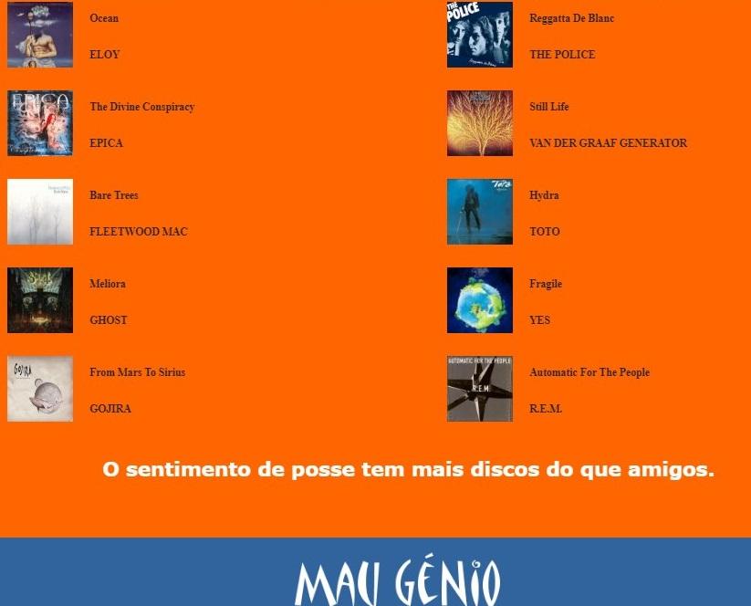 M A U Lista109