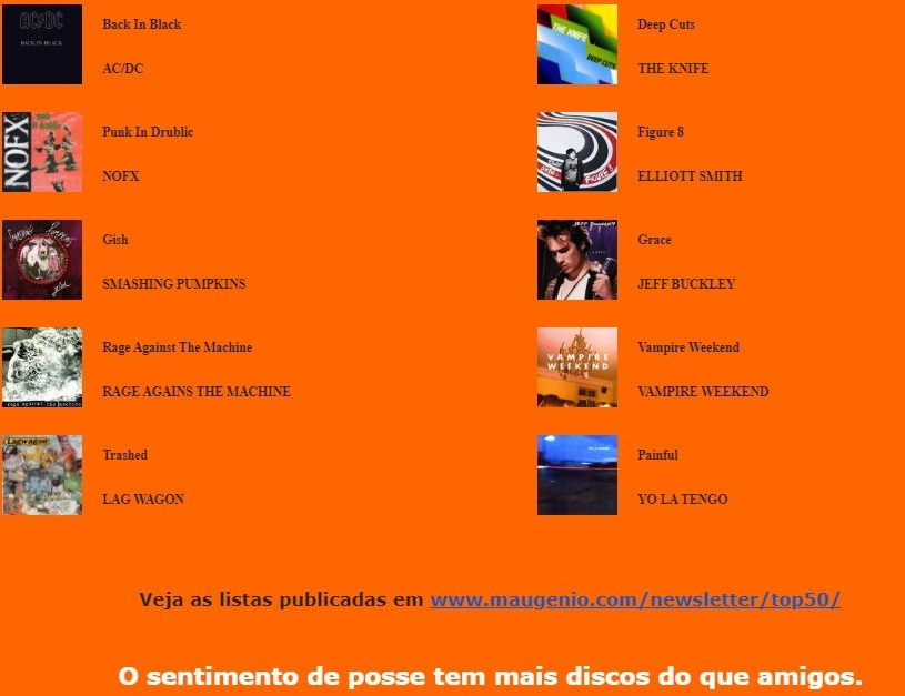M A U Lista133