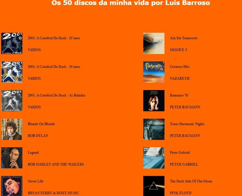 M A U Lista166
