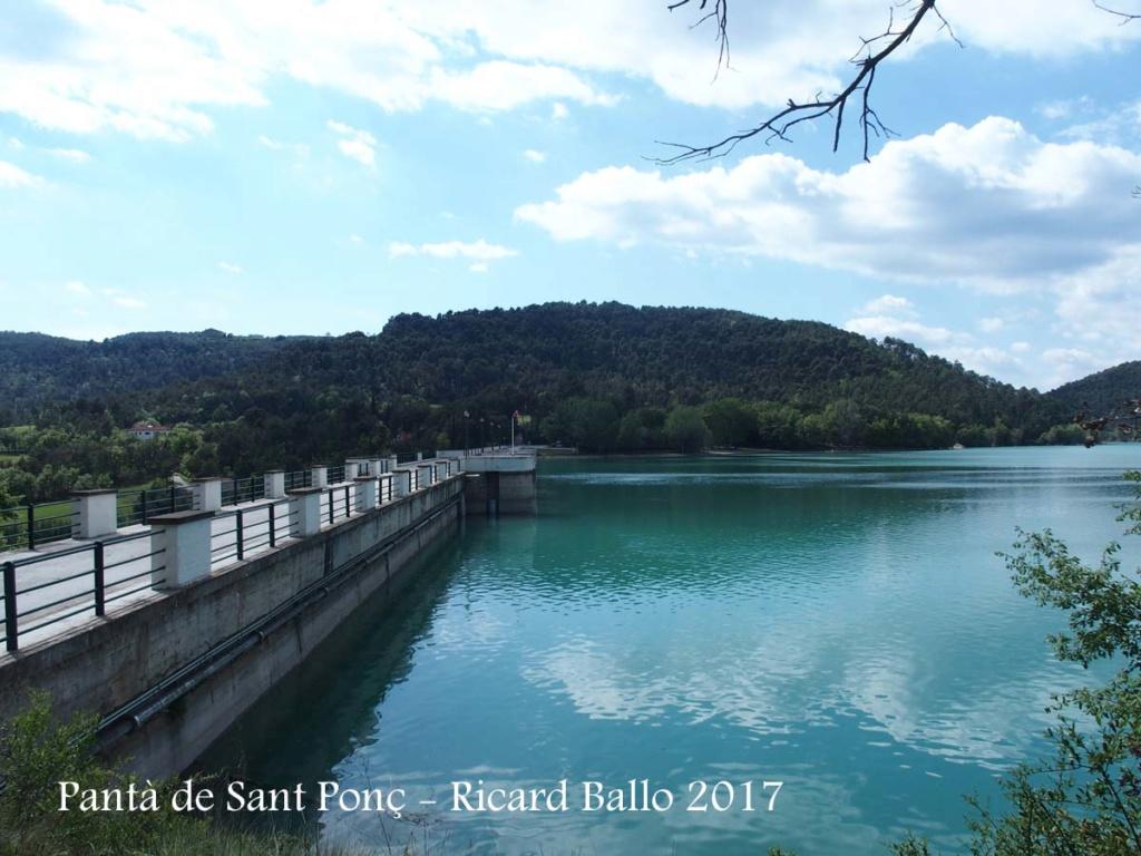 SALIDAS (CAT): Pantano de Sant Ponç. 04.08.2018 03-pan11