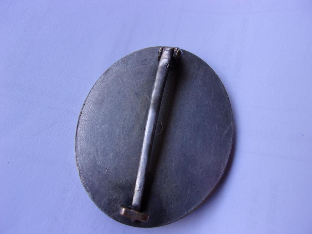 authentification médaille des blessés allemande ww2 argent 103_3710