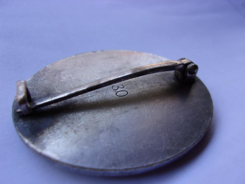 authentification médaille des blessés allemande ww2 argent 103_3713
