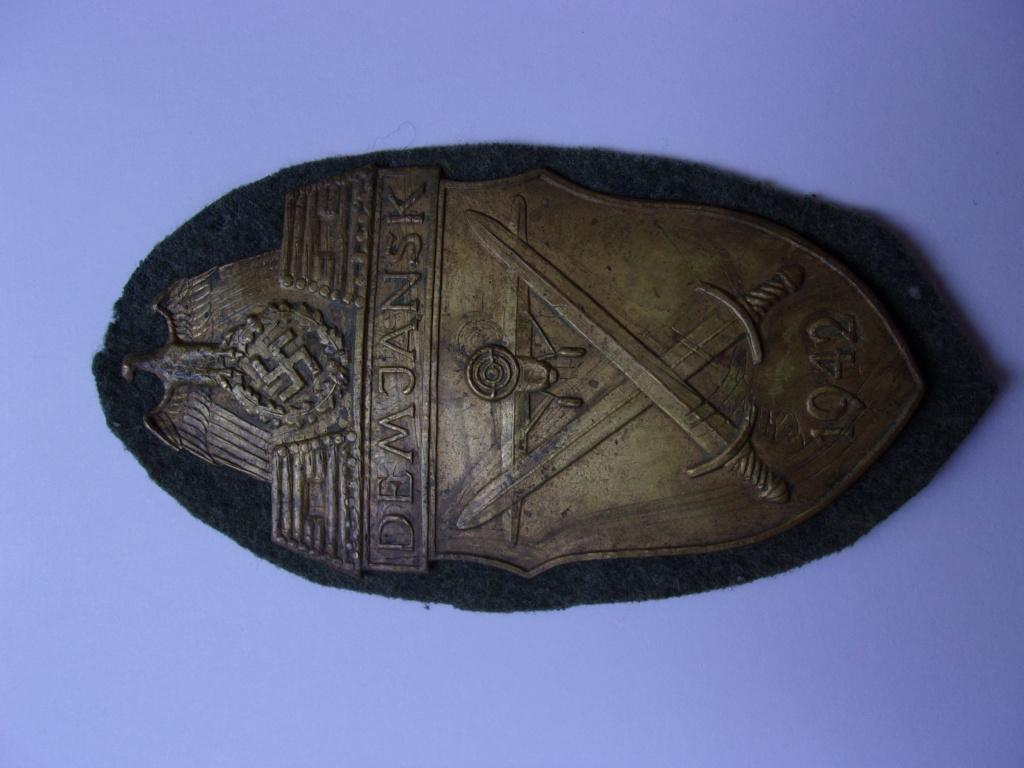 authentification plaque de bras Demjansk 103_4320