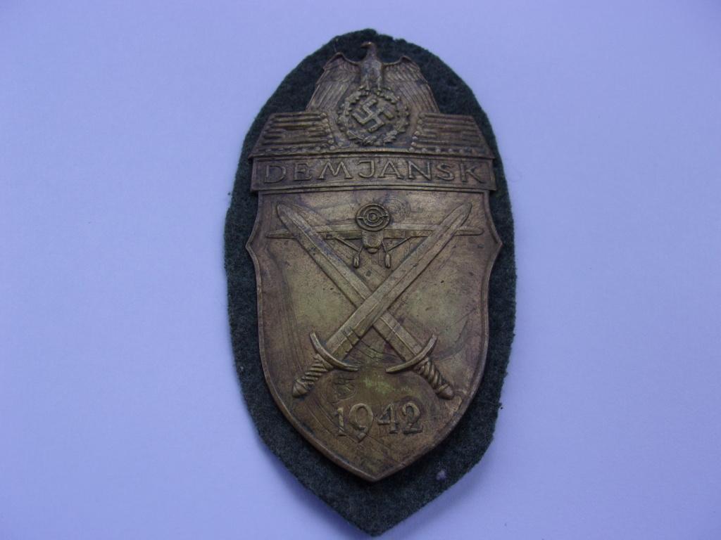 authentification plaque de bras Demjansk 103_4321