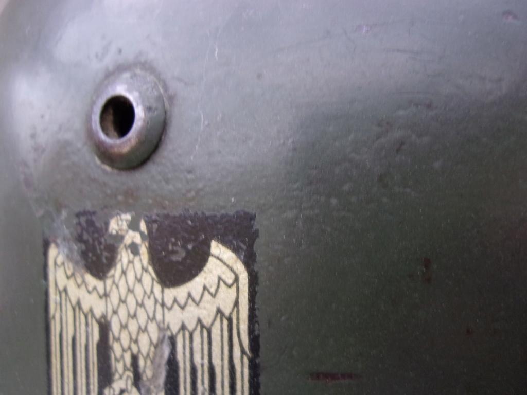 "Casque Wehrmacht M35 double insigne ""vert pomme"" 103_4518"