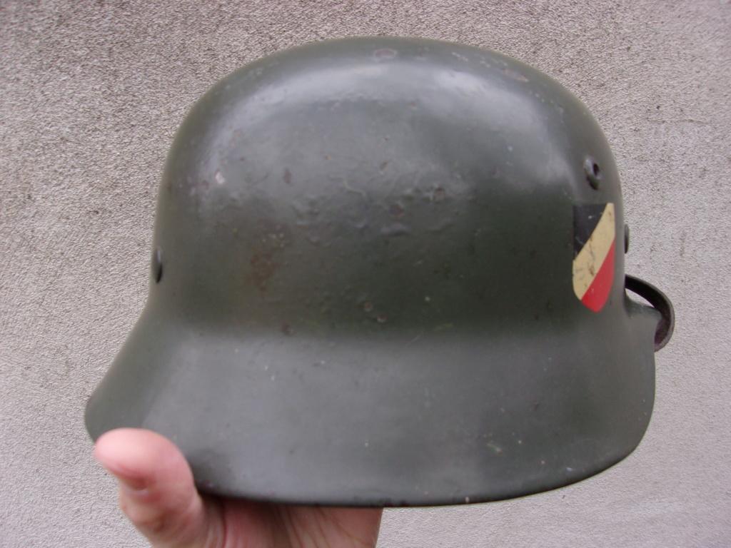 "Casque Wehrmacht M35 double insigne ""vert pomme"" 103_4522"
