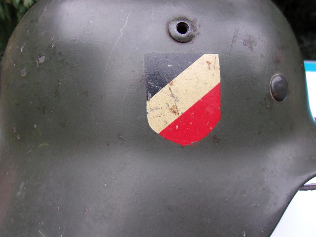 "Casque Wehrmacht M35 double insigne ""vert pomme"" 103_4525"