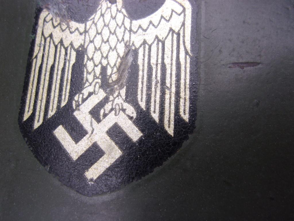 "Casque Wehrmacht M35 double insigne ""vert pomme"" 103_4533"