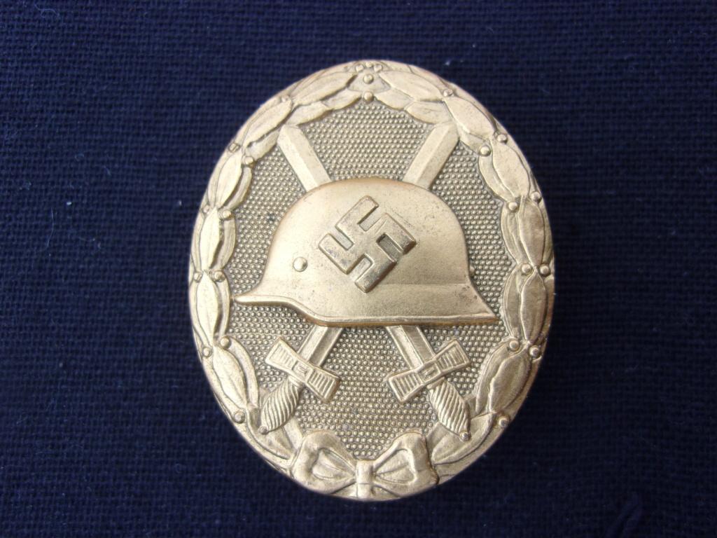authentification badge allemand des blessés or ww2 103_7411