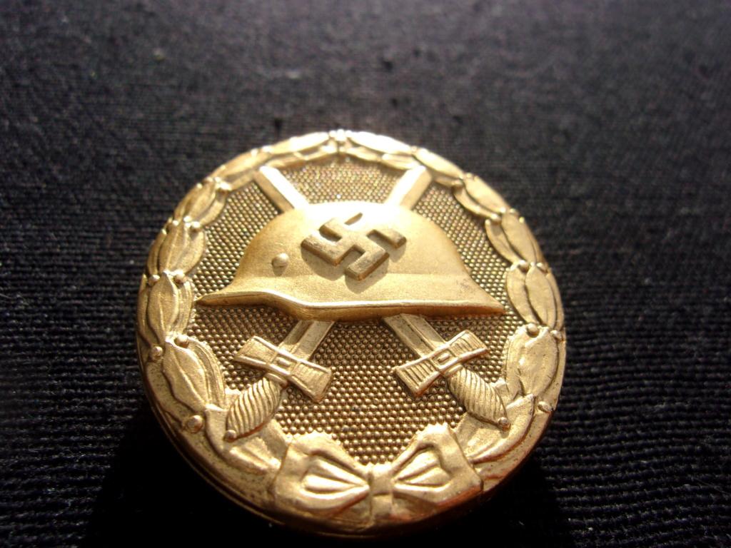 authentification badge allemand des blessés or ww2 103_7414
