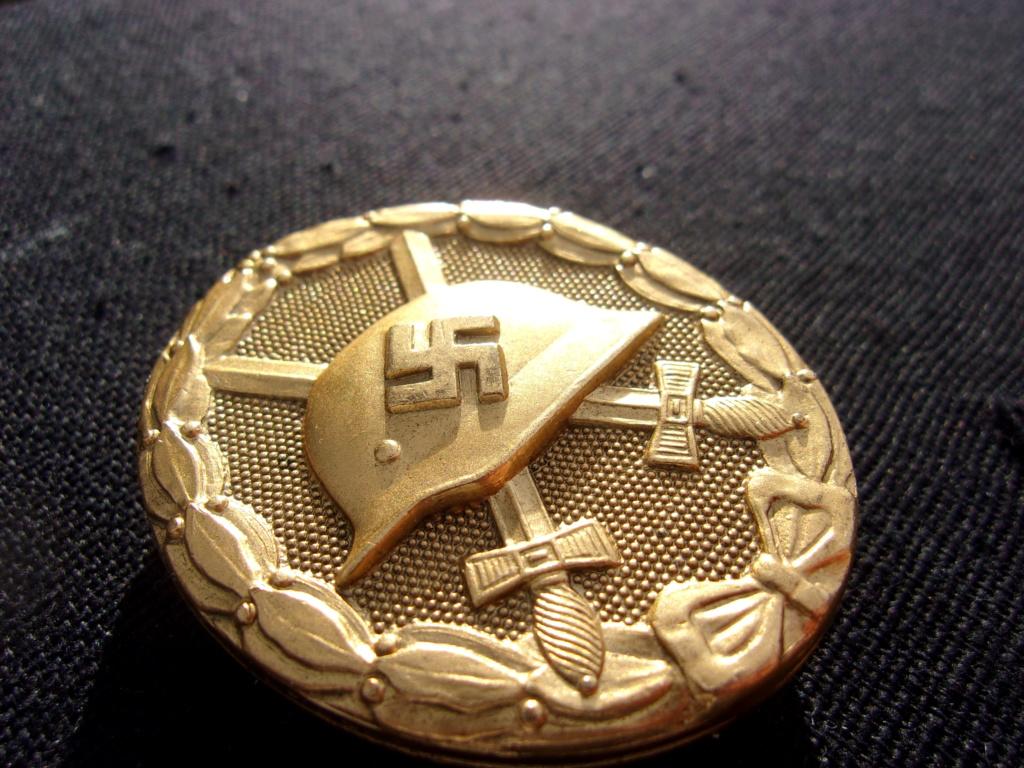 authentification badge allemand des blessés or ww2 103_7415