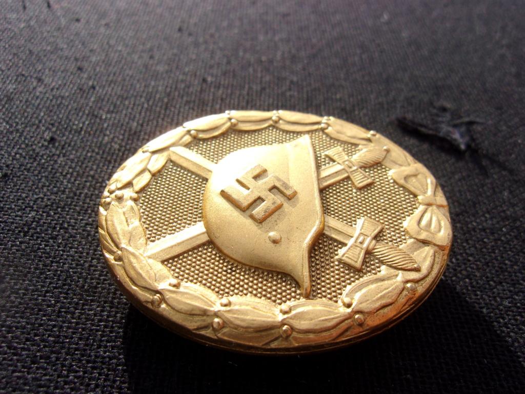 authentification badge allemand des blessés or ww2 103_7416