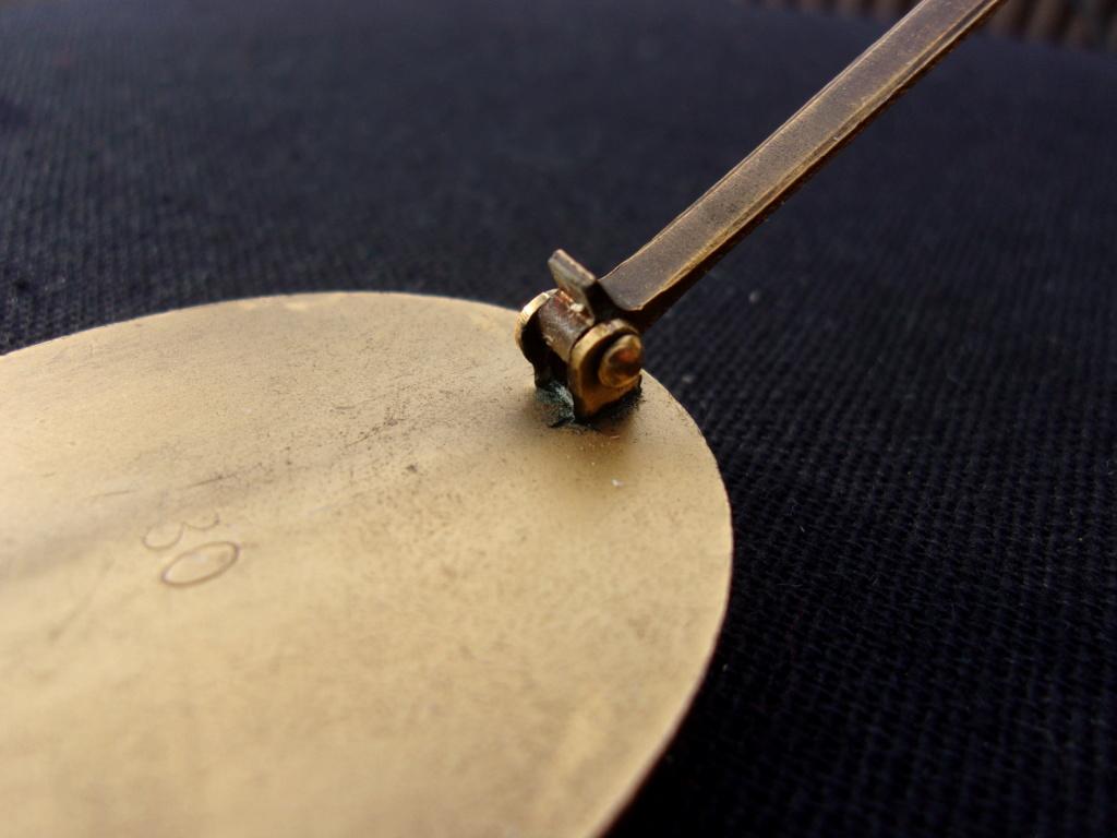 authentification badge allemand des blessés or ww2 103_7422