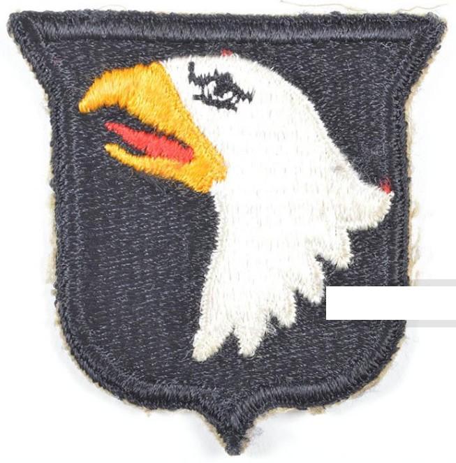 insigne d'épaule screaming eagle ww2 2019-010