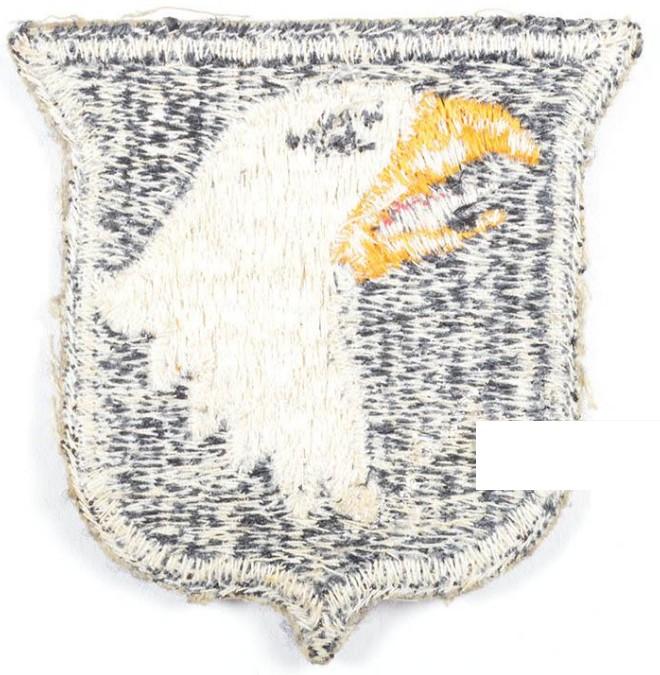 insigne d'épaule screaming eagle ww2 2019-011
