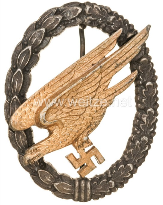 Authentification badge Fallschirmjäger 2019-014