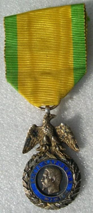 authentification Médaille militaire 2nd Empire 2019-050