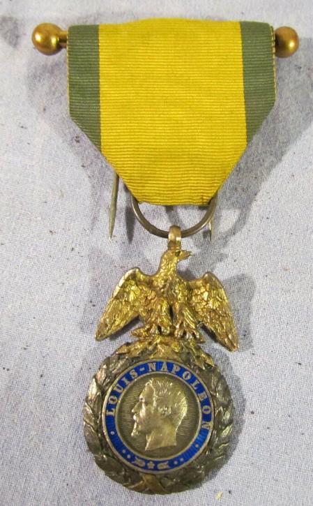 authentification Médaille militaire 2nd Empire 2019-057