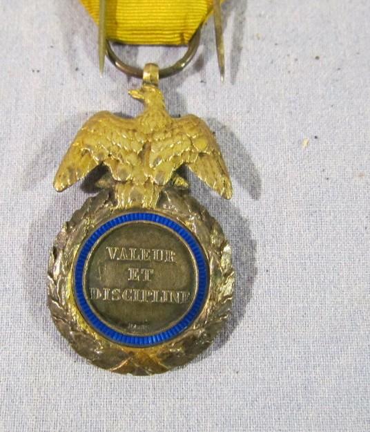 authentification Médaille militaire 2nd Empire 2019-060