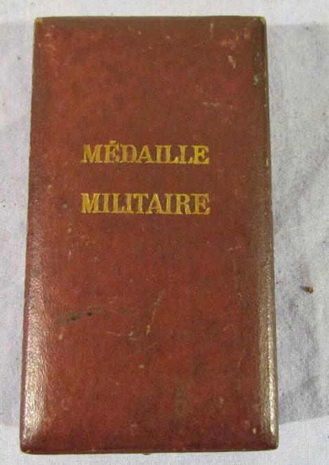 authentification Médaille militaire 2nd Empire 2019-061
