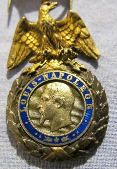 authentification Médaille militaire 2nd Empire 2019-063