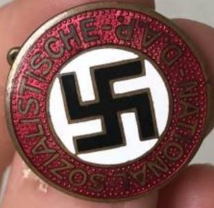 Badge de membre du NSDAP 2020-017