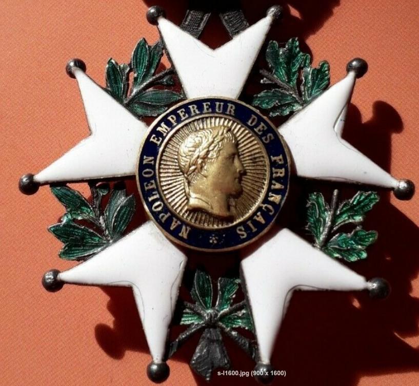 Authentification légion d'honneur 2nd Empire 2020-022