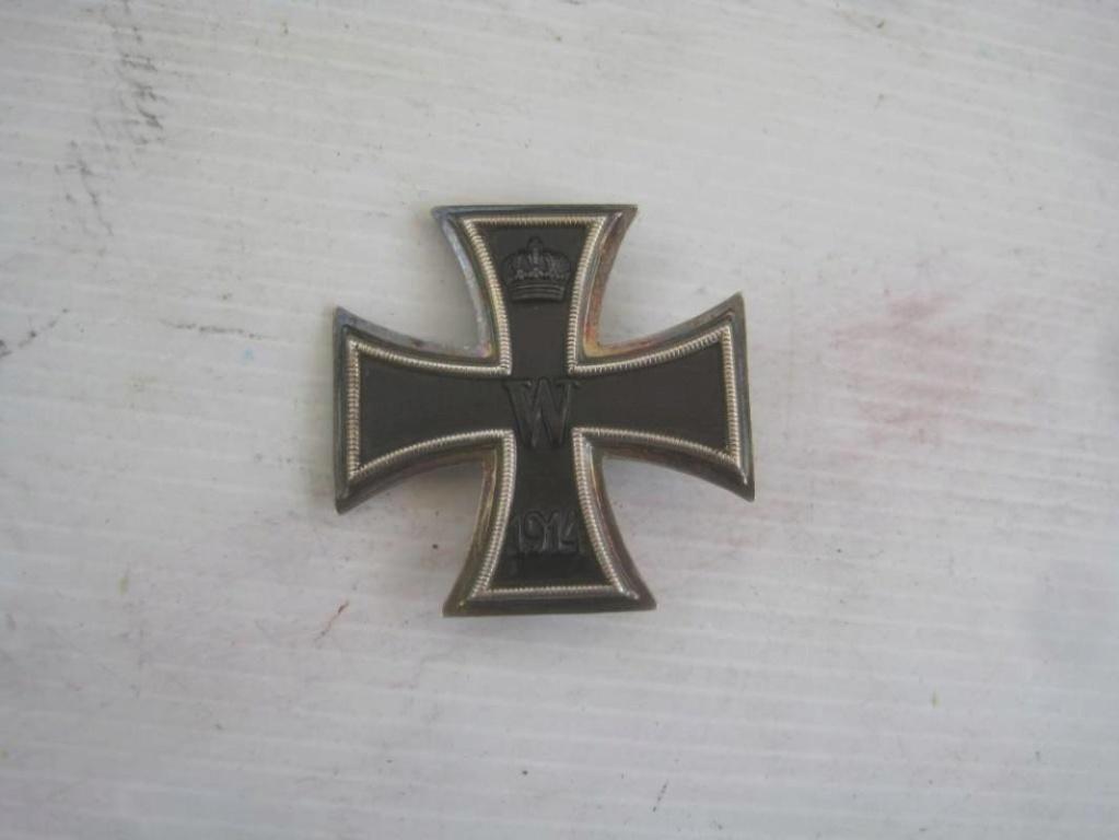 Authentification croix de fer 1ère classe 1914 H-800-10