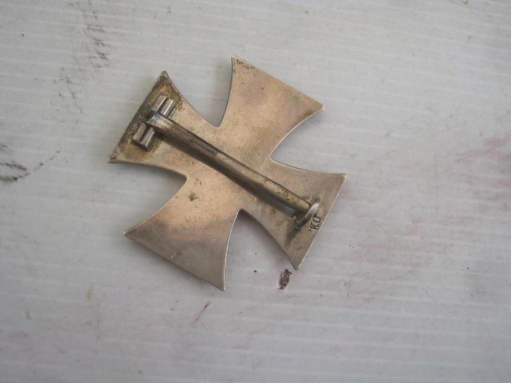 Authentification croix de fer 1ère classe 1914 H-800-11