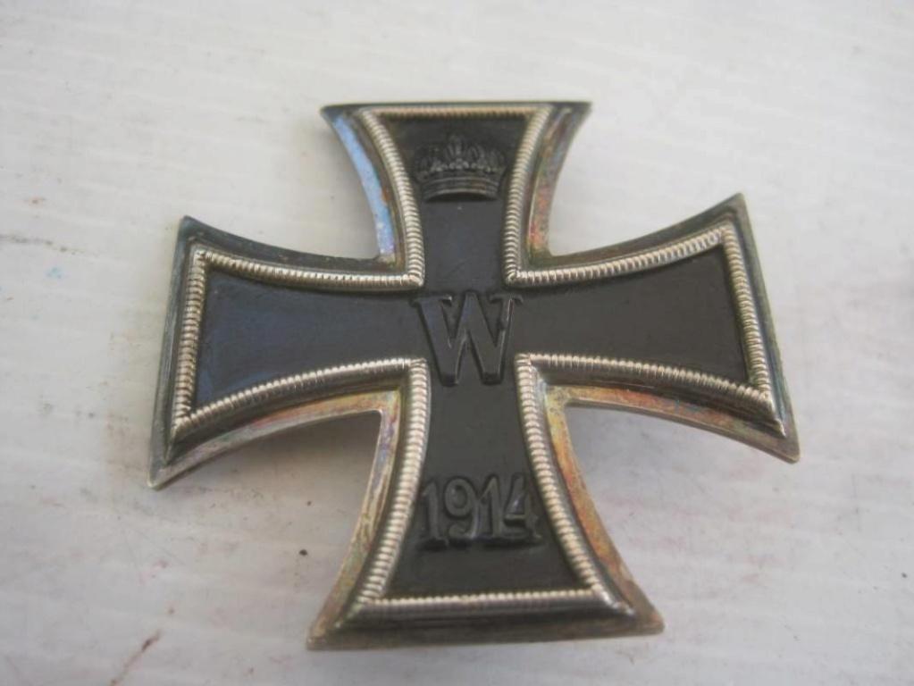 Authentification croix de fer 1ère classe 1914 H-800-12