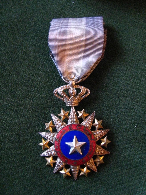 Authentification médaille du Nichan El Anouar S-l16012