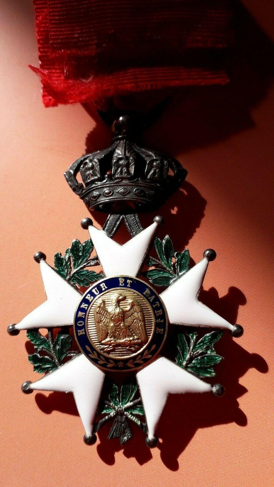 Authentification légion d'honneur 2nd Empire S-l16018