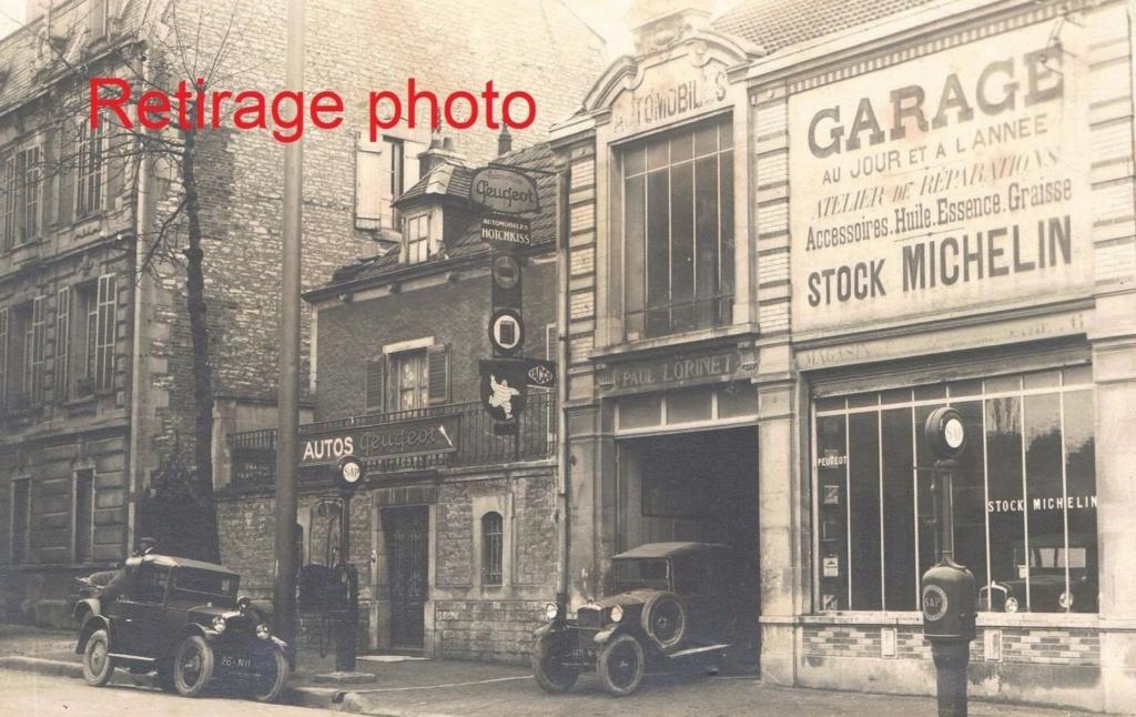 Cartes Postales Anciennes de garages PEUGEOT (Garages, Agences et Concessions) - Page 2 02_cha10