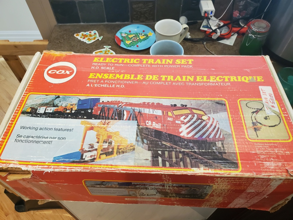 Neighbor Dropped this Cool Train set off 20201210