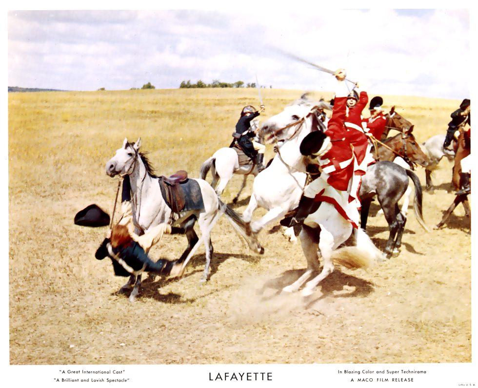 """""""La Fayette"""" de Jean Dréville (1962), avec Liselotte Pulver Blu-ra12"""