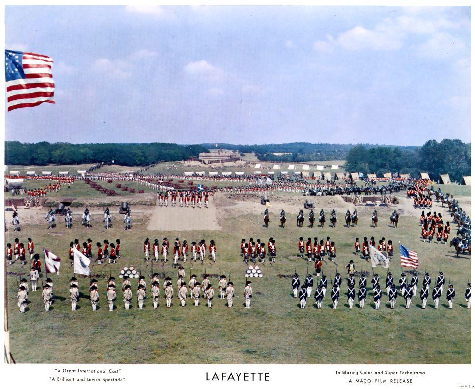 """La Fayette - """"La Fayette"""" de Jean Dréville (1962), avec Liselotte Pulver Blu-ra13"""