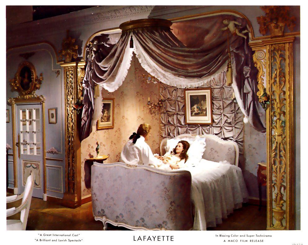 """""""La Fayette"""" de Jean Dréville (1962), avec Liselotte Pulver Blu-ra15"""