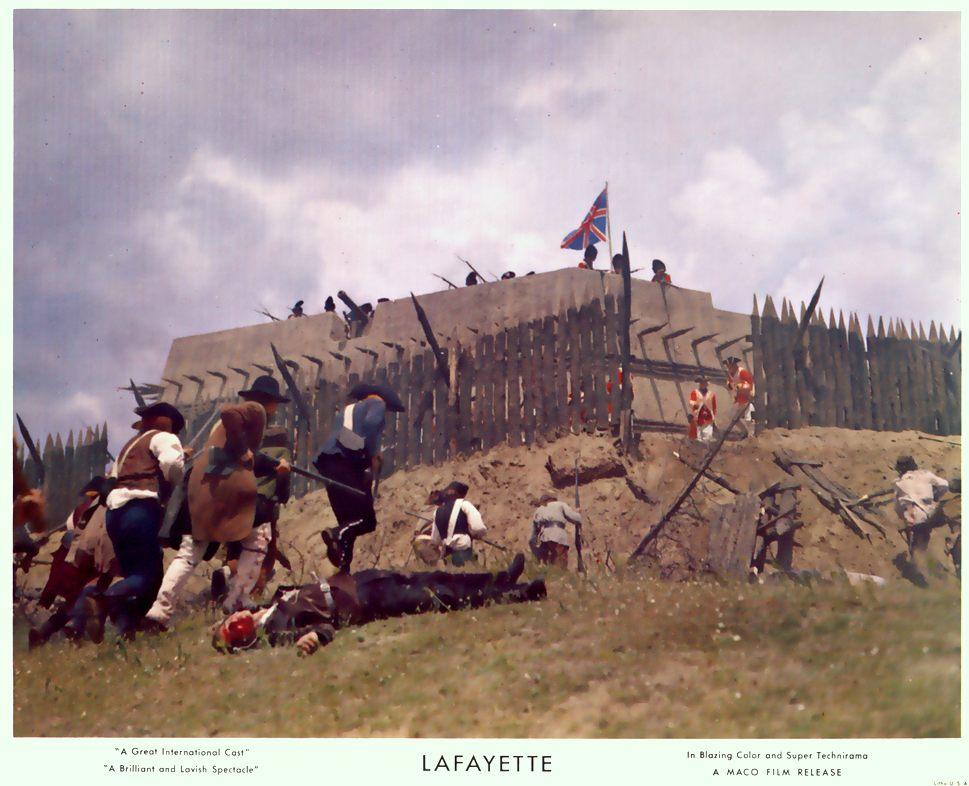 """""""La Fayette"""" de Jean Dréville (1962), avec Liselotte Pulver Blu-ra16"""